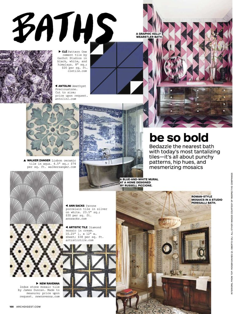 Cle and New Ravenna Architectural Digest
