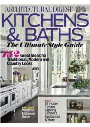 Architectural Digest Kitchens & Baths