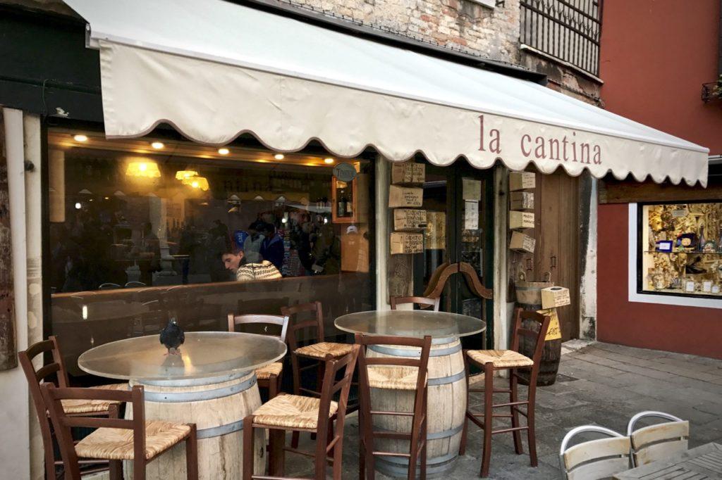 La Cantina in Venice, Italy