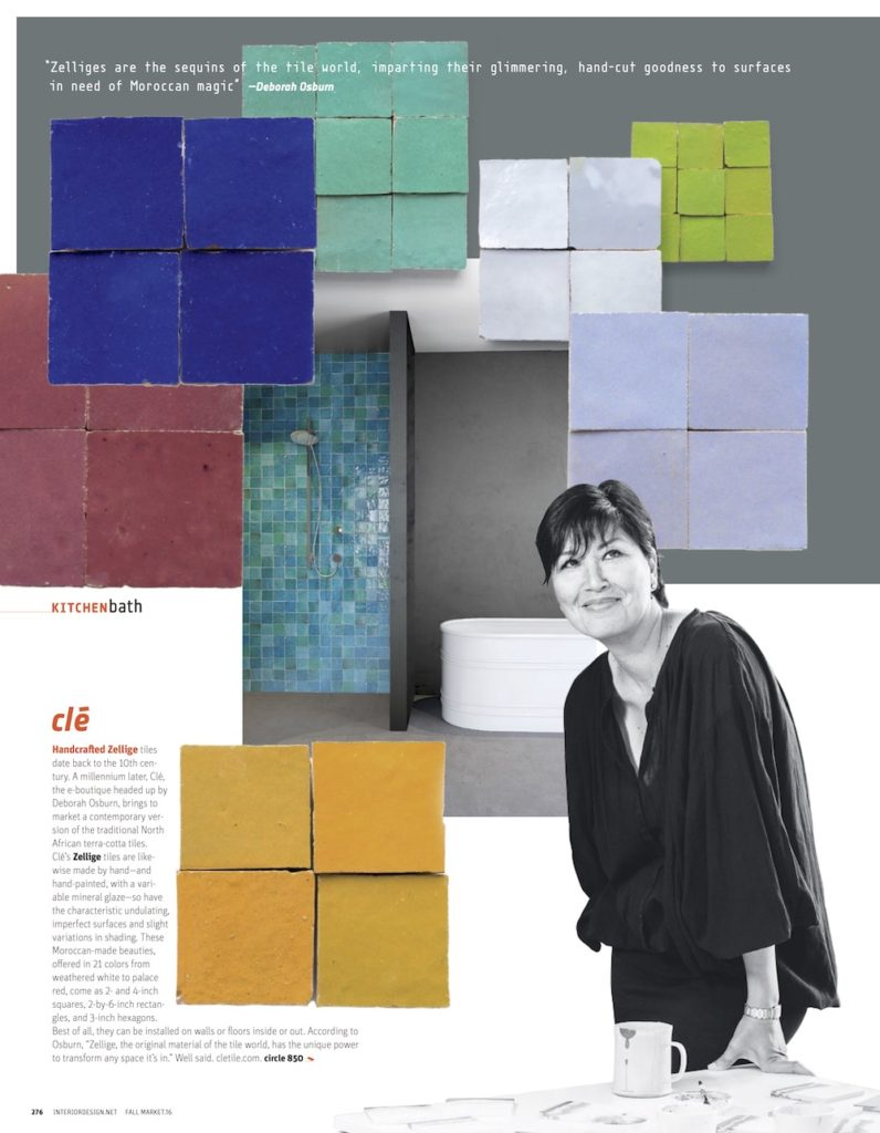 Cle tiles in Fall Market Tabloid