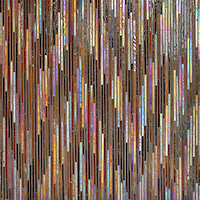 New Ravenna Mosaics: The IKAT Collection Hand Crafted in Jewel Glass