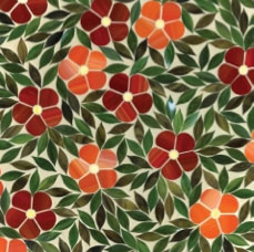 In Bloom: Introducing Jacqueline Jewel Glass Mosaic