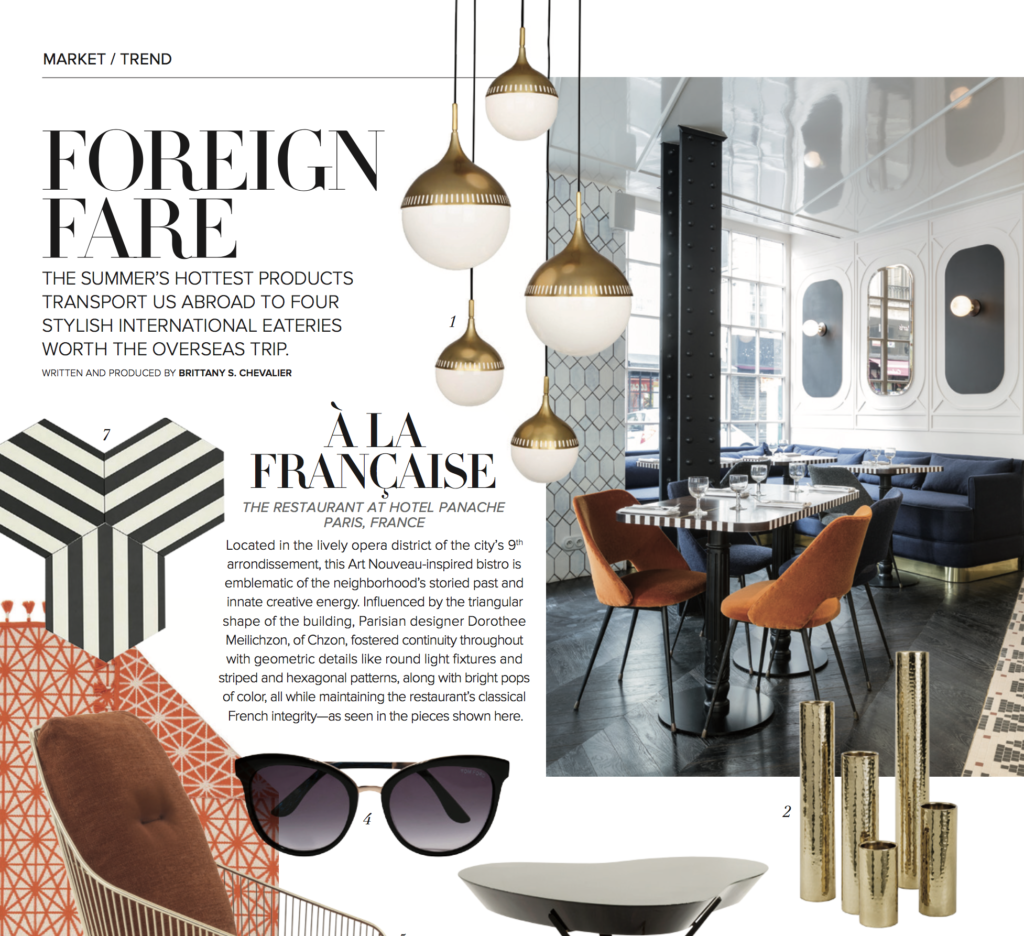 Hedron Hex in Luxe Magazine Market Trends