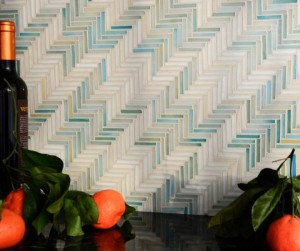 The Houndstooth Collection by Sara Baldwin for New Ravenna Mosaics