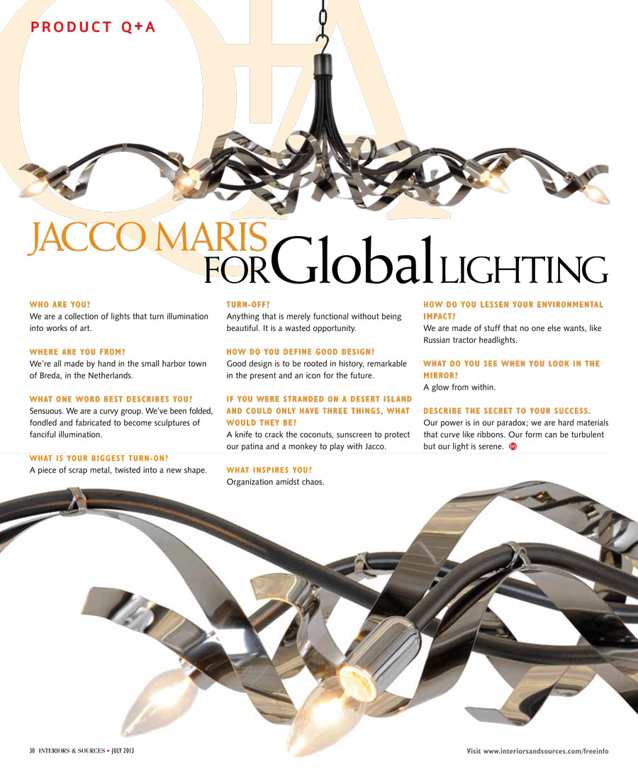 Jacco Maris Q &A Global Lighting