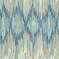 New Ravenna Introduces The Ikat Collection Hand Crafted in Jewel Glass