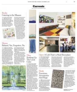 Watermark Tiles Featured in New York Times
