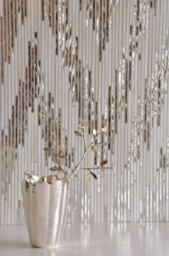 New Ravenna Mosaics Presents Winter White to Warm the Walls and Floors