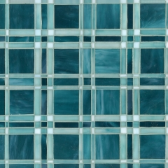 New Ravenna Mosaics Introduces the Gingham and Plaid Collection Designed by Sara Baldwin
