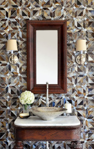 New Ravenna Mosaics Introduces Parquet Tile in Glass and Stone Designed by Sara Baldwin