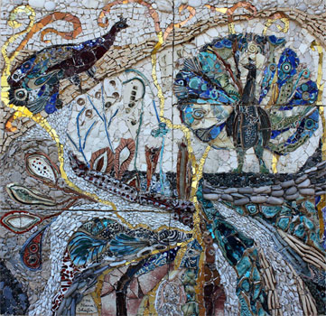 The spontaneous mosaics of Ilana Shafir