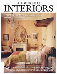 Clé Tile in The World of Interiors June 2014