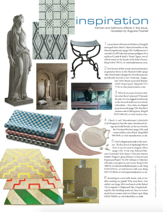 New Ravenna in World of Interiors