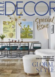 Elle Decor dishing on style